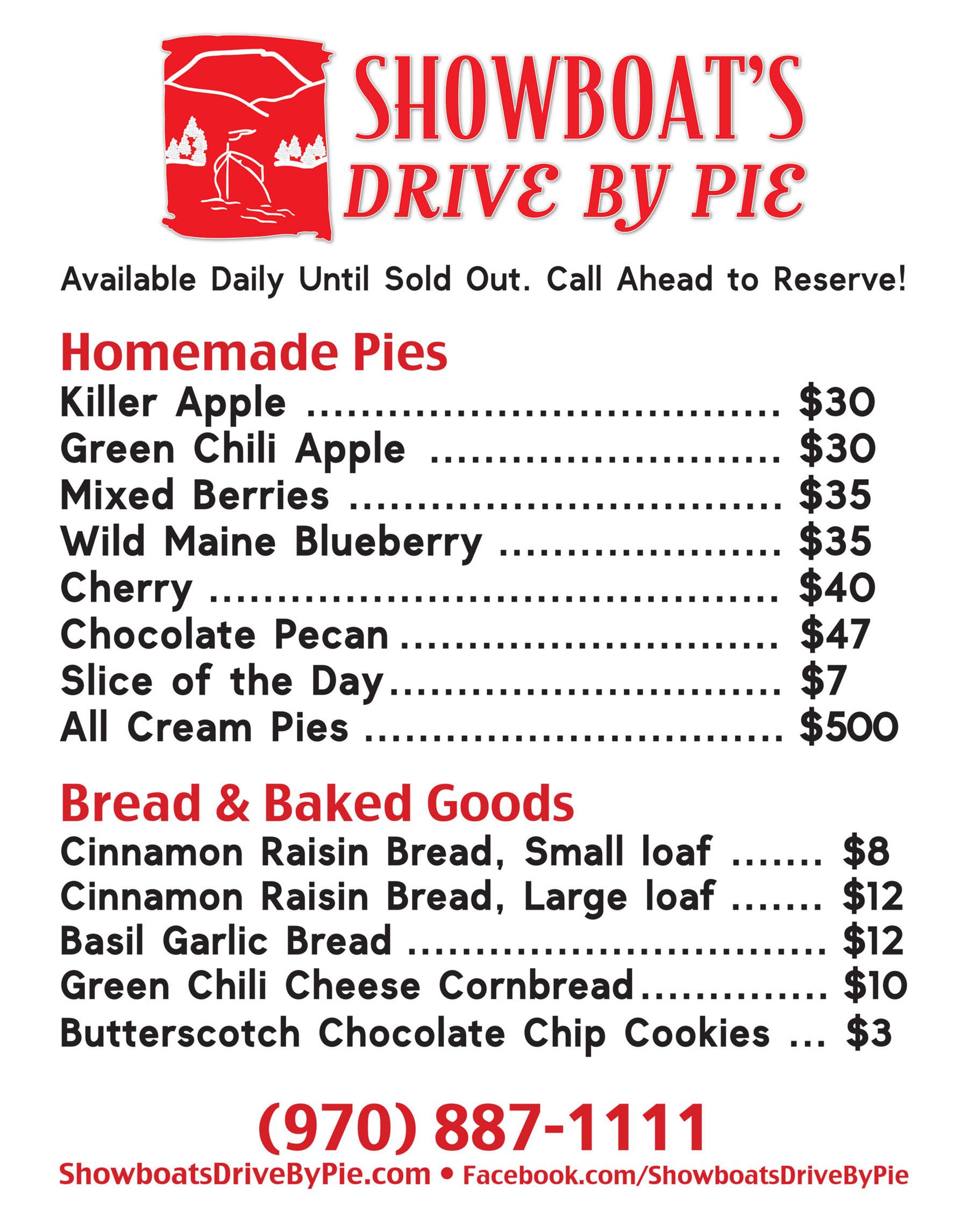 Showboat's Drive By Pie Menu